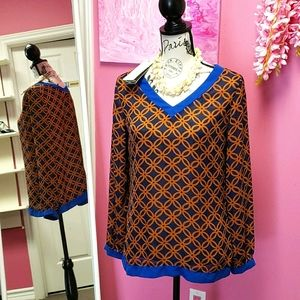NWT Glam & Fame Blouse Top Shirt